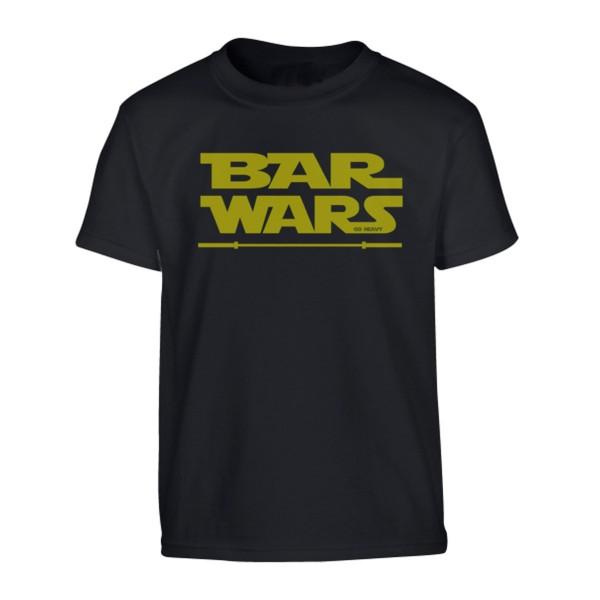 Go Heavy Bar Wars - Herren Shirt - schwarz
