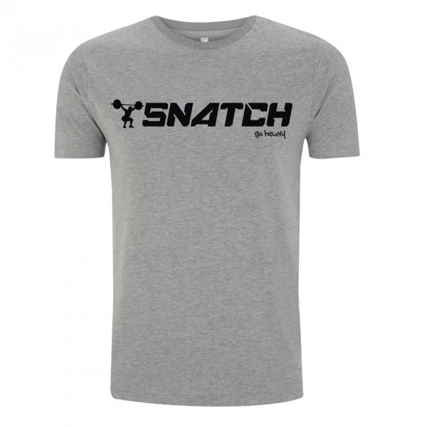 Go Heavy Snatch - Herren Shirt - grau