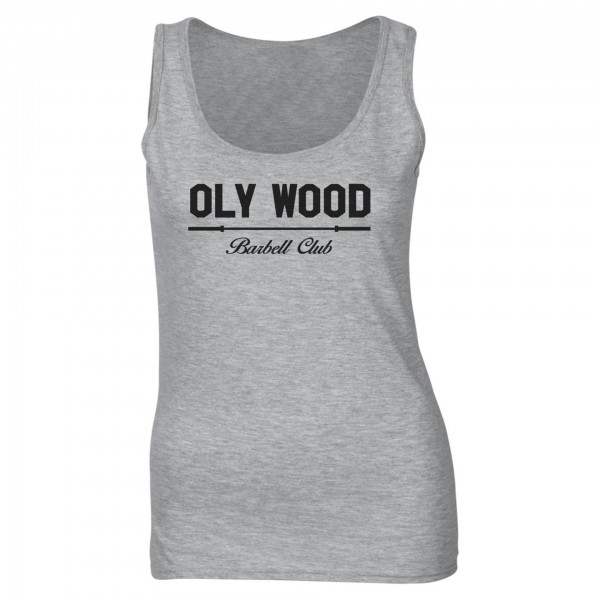 Go Heavy Oly Wood - Damen Tank Top - grau