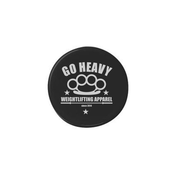 Go Heavy Magnetbutton