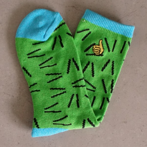 Bro Style Socks - Crazy Eighties - grün