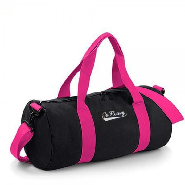 Go Heavy Sports Bag - schwarz/pink