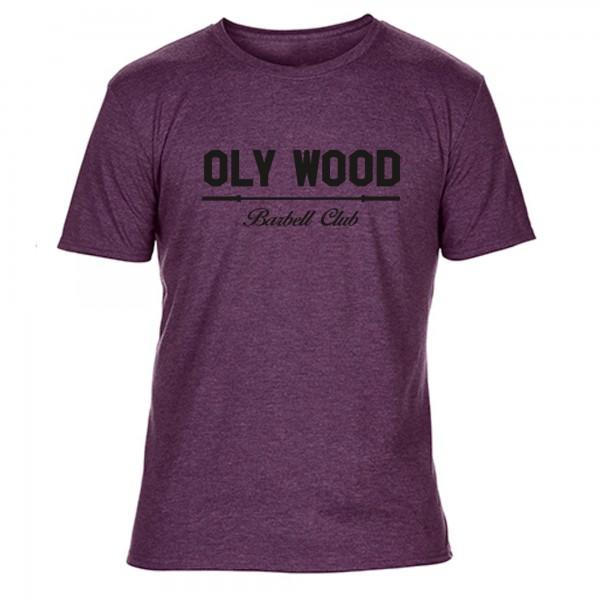 Go Heavy Oly Wood - Herren Shirt - heather purple