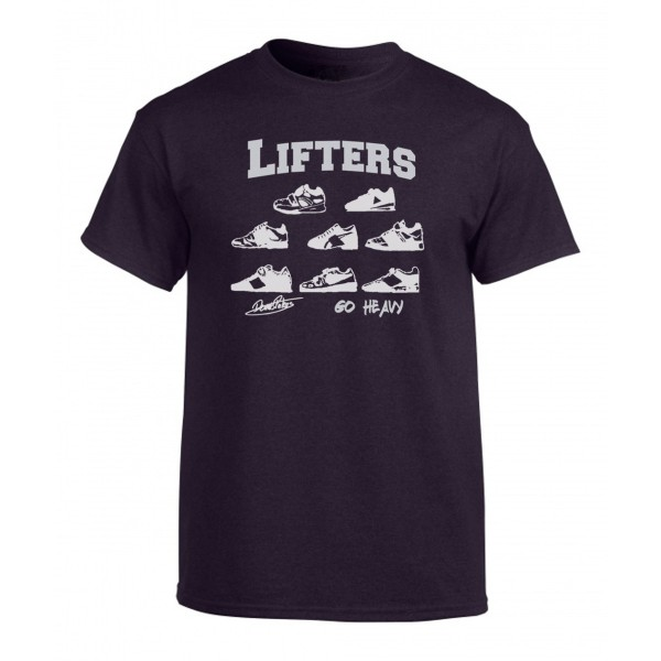 Go Heavy Lifters Herren Shirt - heather blackberry