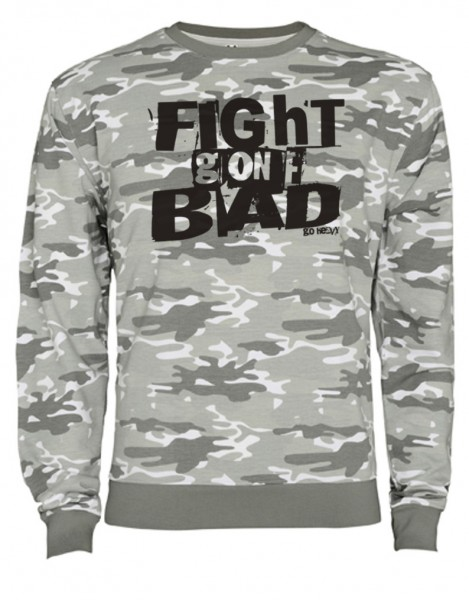 Go Heavy Camouflage Herren Sweatshirt - Fight Gone Bad