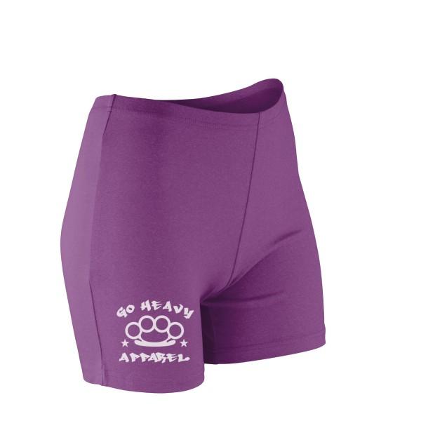 Go Heavy Damen Shorts - violett