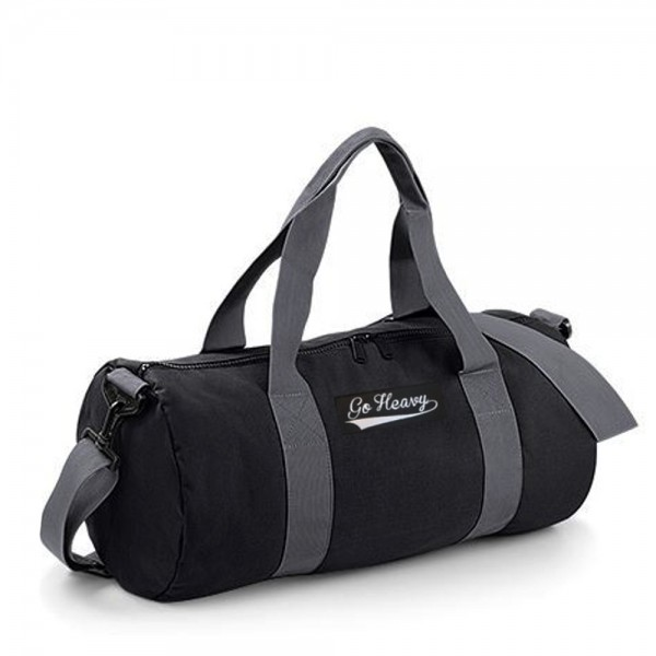 Go Heavy Sports Bag - schwarz/grau
