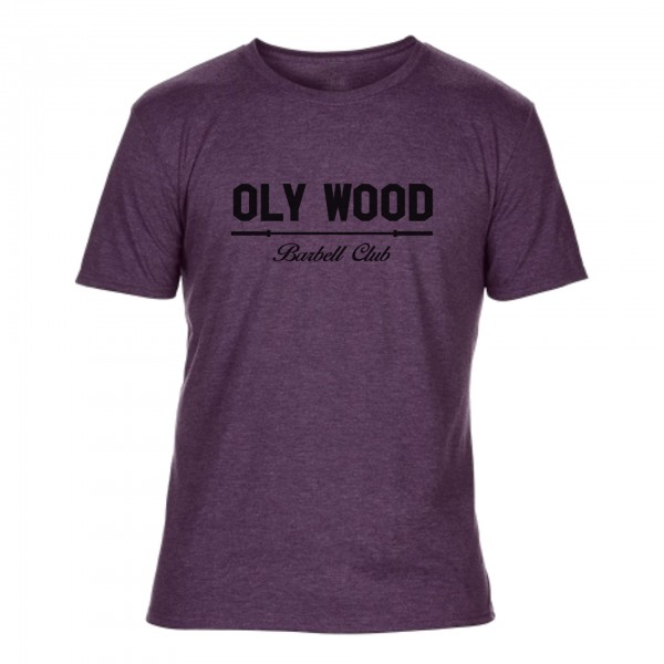 Go Heavy Oly Wood - Herren Shirt - heather purple