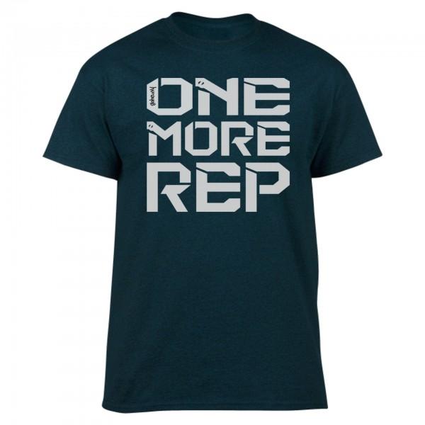 Go Heavy One More Rep - Herren Shirt - dark heather green