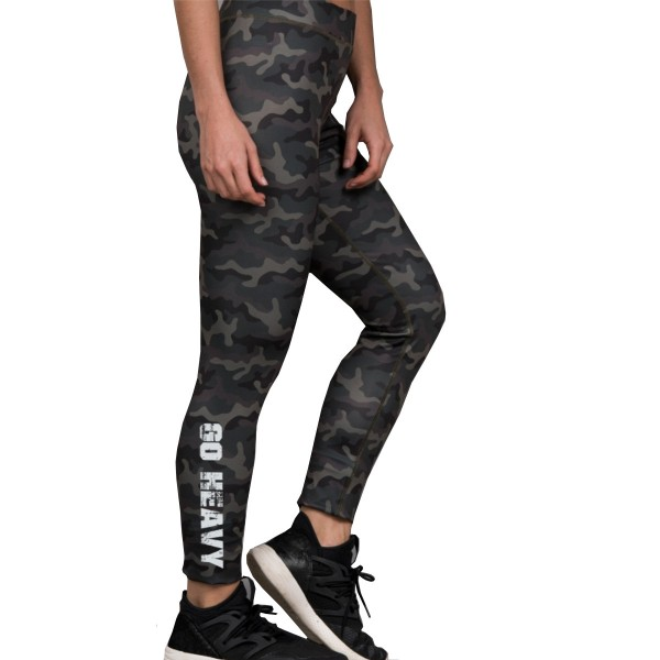 Go Heavy Damen Leggings - camo