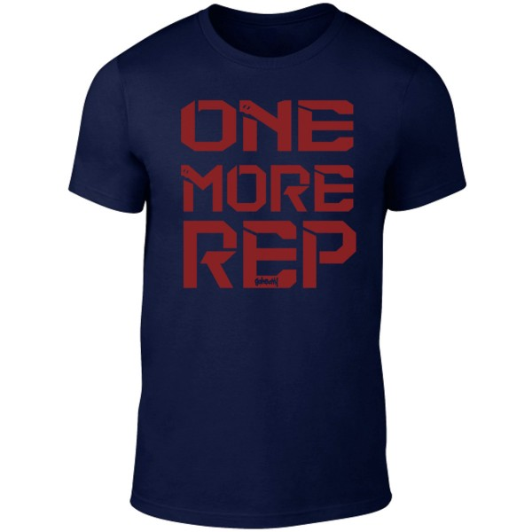 Go Heavy One More Rep - Herren Shirt - dunkelblau