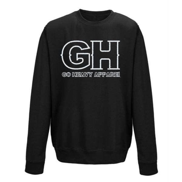 Go Heavy Herren Sweatshirt - GH - schwarz