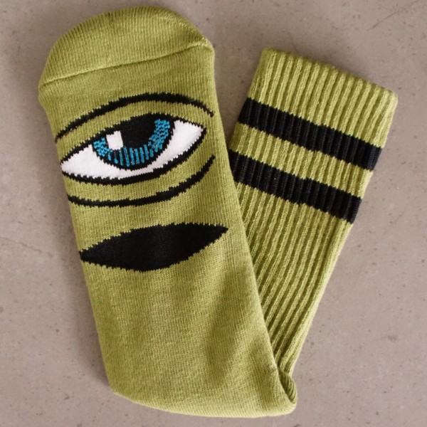 Toy-Machine Socks - Sect Eye III - grün