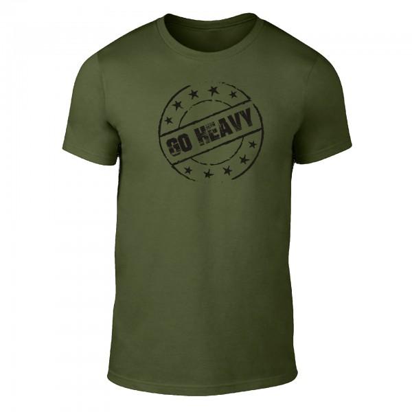 Go Heavy Stamp - Herren Shirt - grün