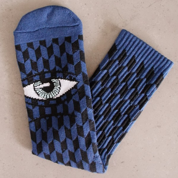 Toy-Machine Socks - Sect Herring - blau