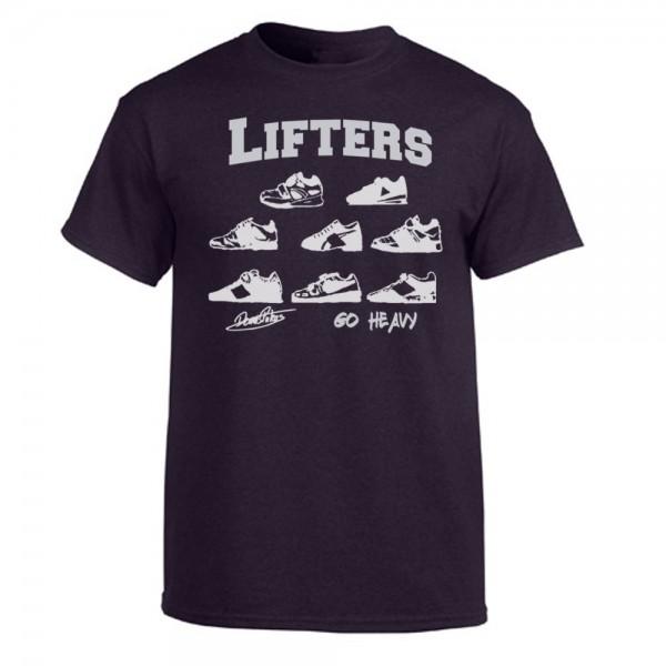 Go Heavy Lifters Herren Shirt - heather blackberry