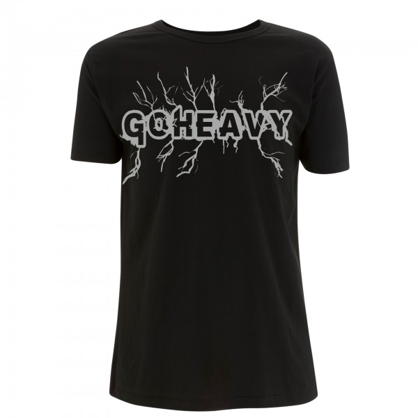 Go Heavy High Voltage - Herren Shirt - schwarz