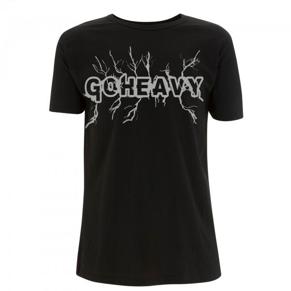 Go Heavy High Voltage - Herren Shirt - schwarz