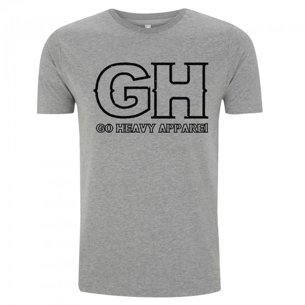 Go Heavy Herren Shirt - GH - grau