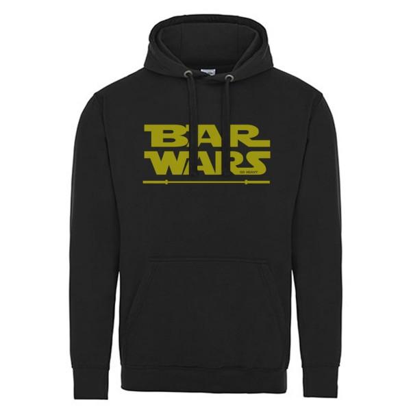 Go Heavy Bar Wars - Damen Hoodie - schwarz