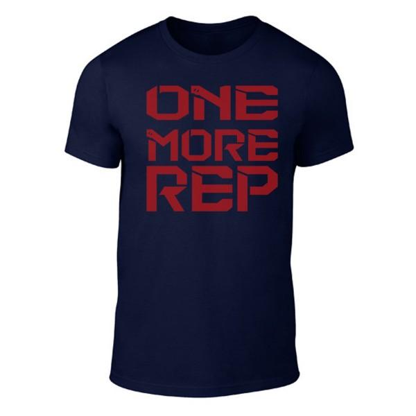 Go Heavy One More Rep - Herren Shirt - dunkelblau