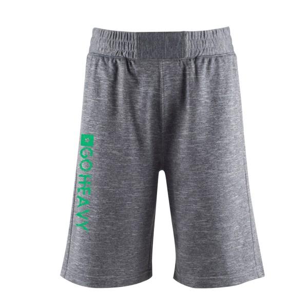 Go Heavy Herren Wod Shorts - grau